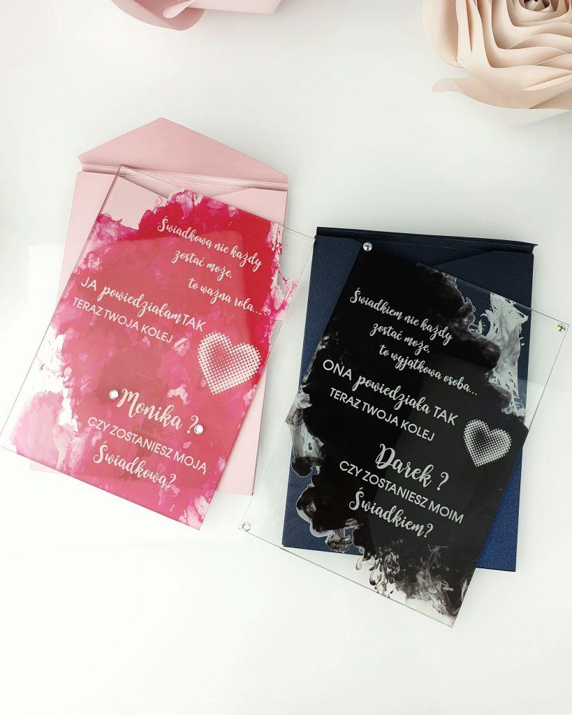 Black pink cloud prośba o świadkowanie szklana tafla