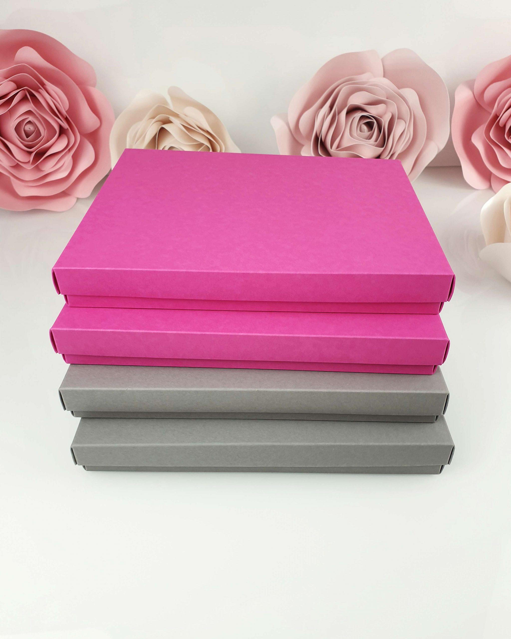 Etui różowe z wkładką stabilizującą do tafli A5 dodatki 5