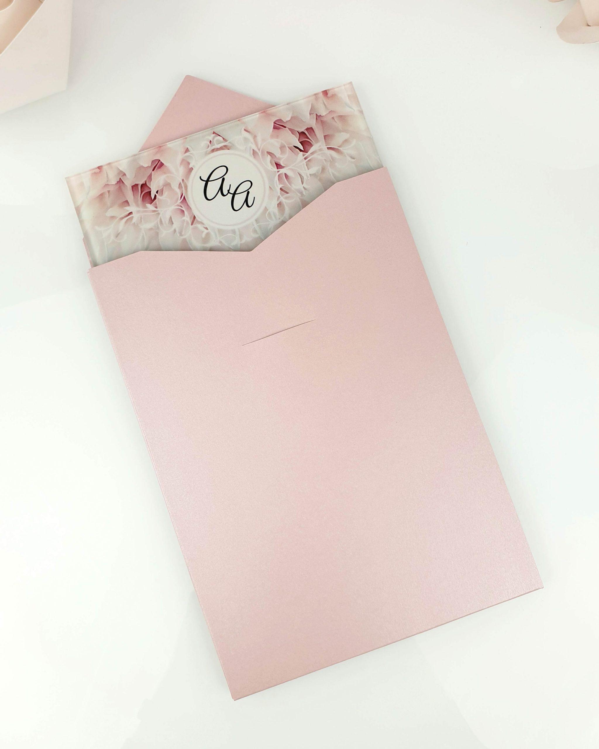 Etui shiny pink A5 dodatki 4