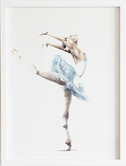 Obraz do pokoju baletnica prezent dla dziecka