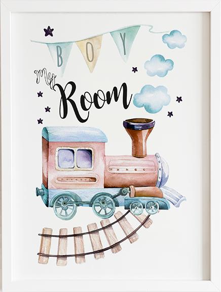 Obraz do pokoju dream my room prezent dla dziecka