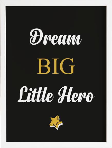 Obraz do pokoju hero 2 prezent dla dziecka