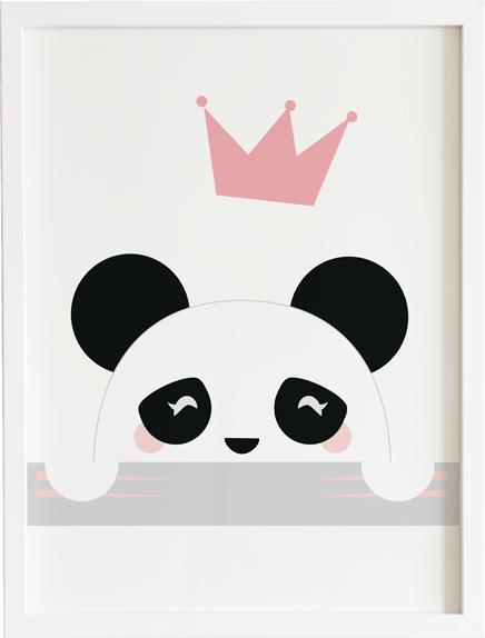 Obraz do pokoju lovely panda prezent dla dziecka