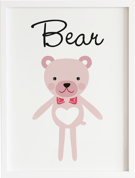 Obraz do pokoju toy bear prezent dla dziecka