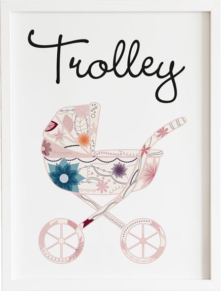 Obraz do pokoju toy trolley prezent dla dziecka