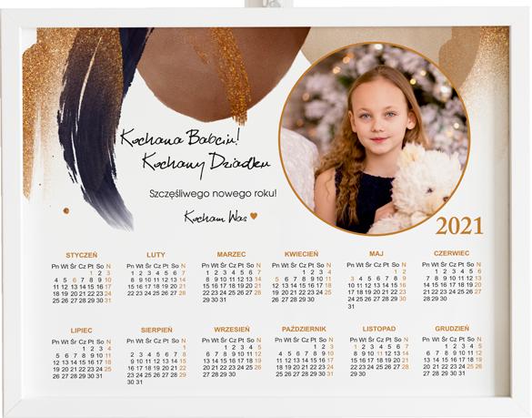 kalendarz ze zdjęciem